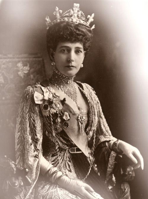 Queen Alexandra of Denmark. Queen of Great Britain and Ireland, Empress of India.
