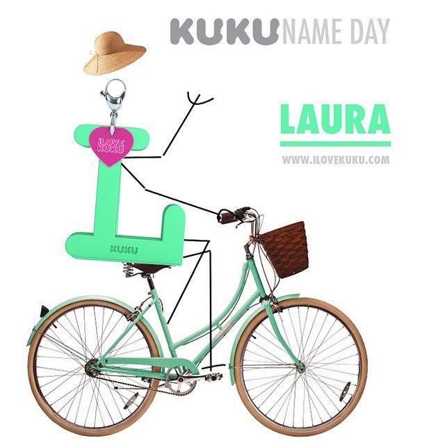 Dnes má meniny LAURA☝️ prajeme všetko najlepšie MintⓁ  Poteš svoju kamarátku alebo seba www.ilovekuku.com #ilovekuku