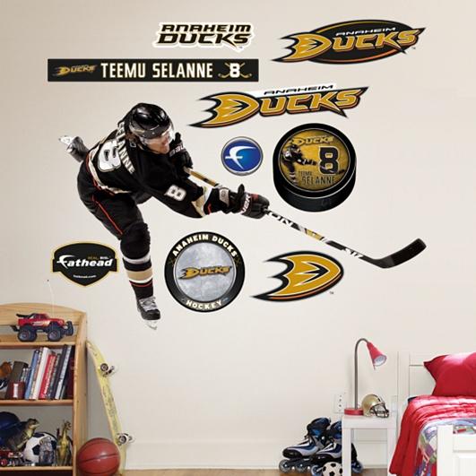 Teemu Selanne, Anaheim Ducks I love him