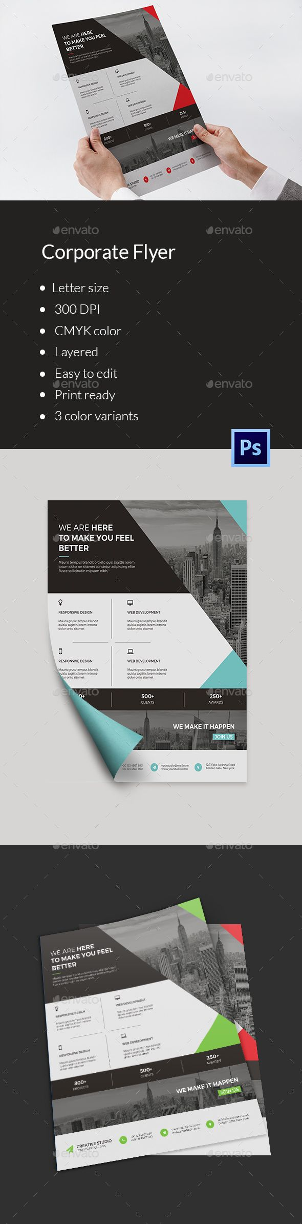 Business Flyer Template V137 614 best Corporate Flyer