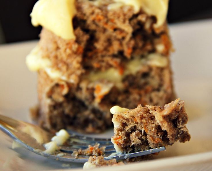 5-minute Carrot Cake For One