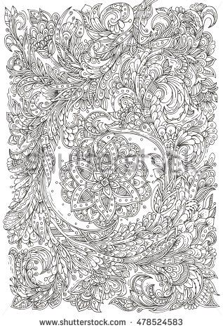 Zen Time Colorscapes Adult Coloring for Stress Relief and Relaxation Volume 1