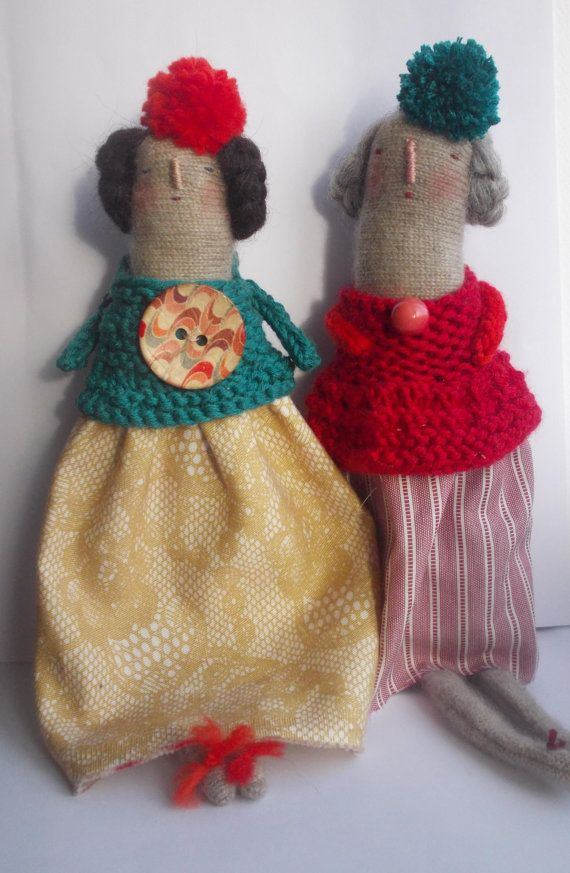 Melodie Stacey/Maidolls - knitted dolls