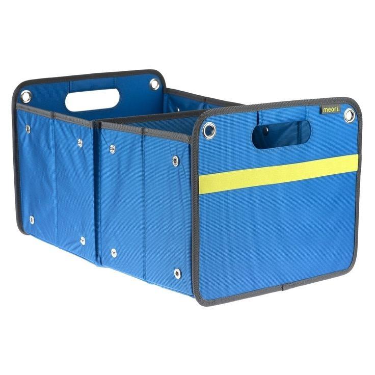 Meori Outdoor Folding Fabric Storage Box (Mediterranean Blue)