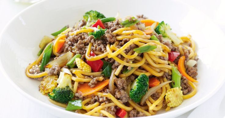 Looking for a new way with mince? Stir-fry it with your favourite vegies and slurpy noodles for a dinner that is sure to become a weeknight regular.