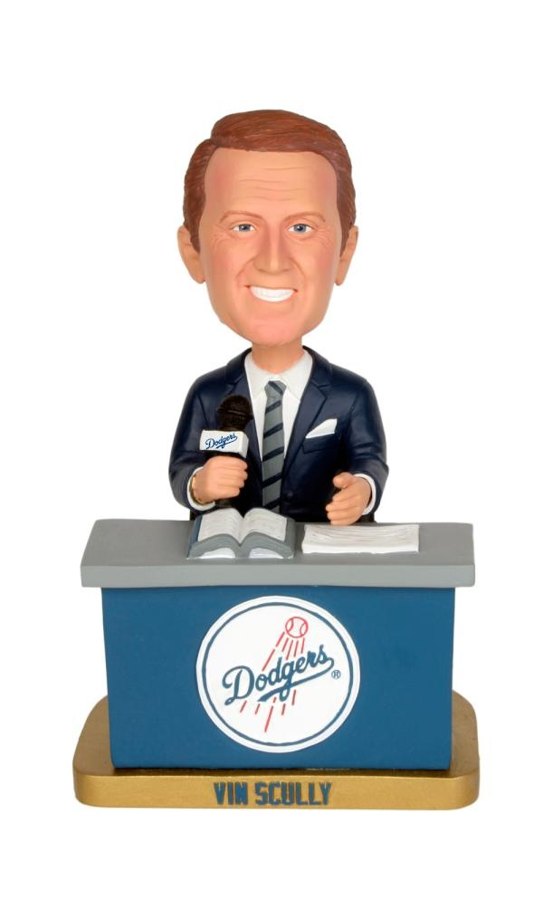Vin Scully Bobblehead - my fav christmas present this year