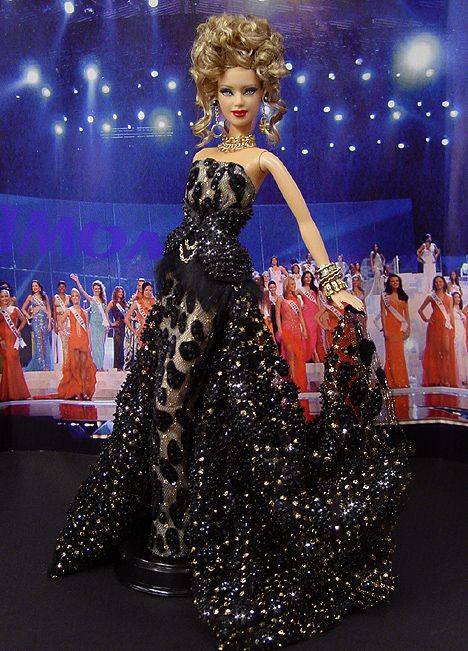 OOAK Barbie NiniMomo's Miss Massachusetts 2009