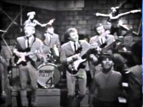 "Bobby Fuller Four - ""I Fought The Law"" (Live in 1966) ... Wow, great memories and check out those Go-Go Girls!"