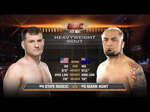 UFC (Ultimate Fighting Championship): UFC 203 Free Fight: Stipe Miocic vs Mark Hunt
