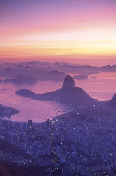 Rio de Janeiro, Brazil.  On my list of places to go!