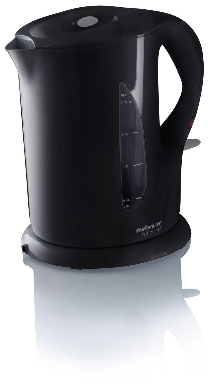 fahrenheit black cordless kettle  http://www.mellerware.co.za/products/fahrenheit-black-cordless-kettle-22751