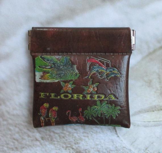 Florida Change Purse Vintage
