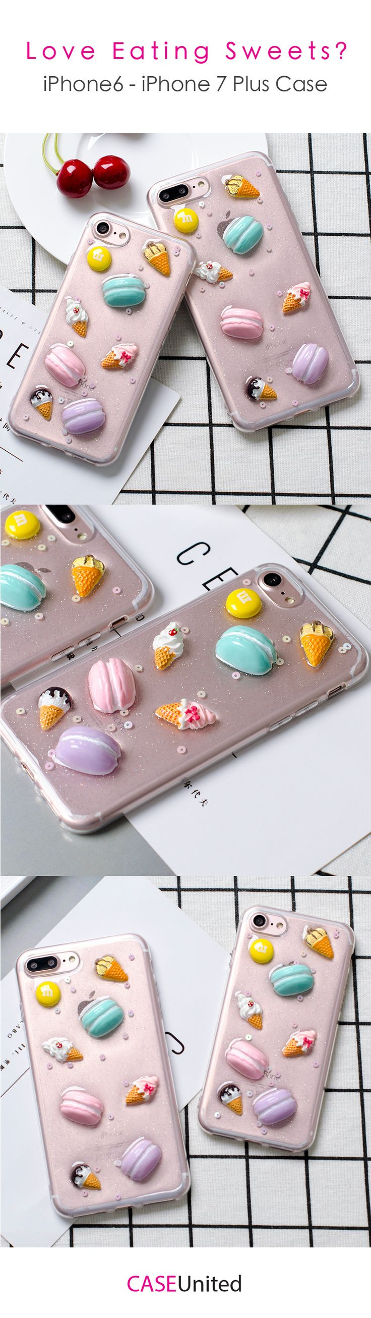3D iPhone Candy Case For Sweets Lovers ! Protect Your iPhone With Girly Cases!