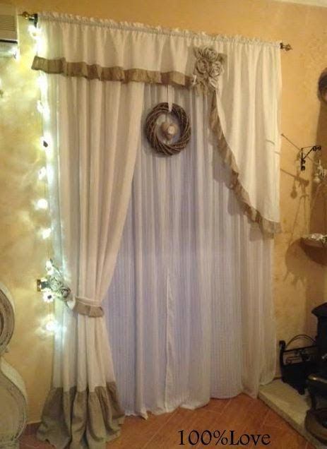 Oltre 1000 idee su tende soggiorno su pinterest tende a rullo tende per la camera da letto e - Idee per le tende ...