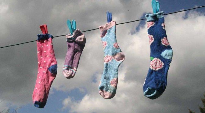 9.Mai: Tag der verlorenen Socke :-)