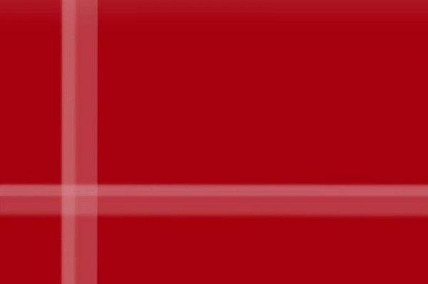 Vetro ROSSO PORPORA Lucido con supporto 1 mm