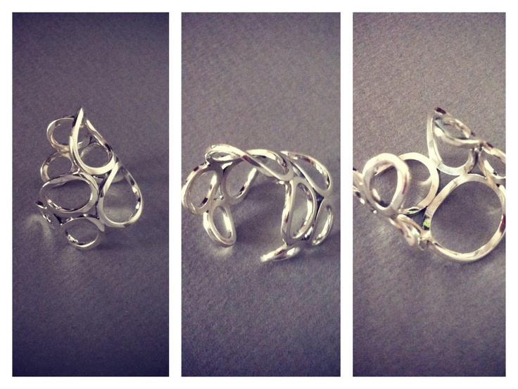 """Sterling Silver Ring - """"Silver Wings"""" Collection"""