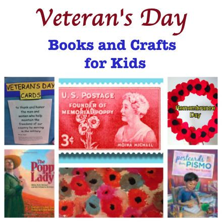 Veteran's Day books and crafts for kids :: PragmaticMom -- teaching our children about memorials and remembrances is so important.