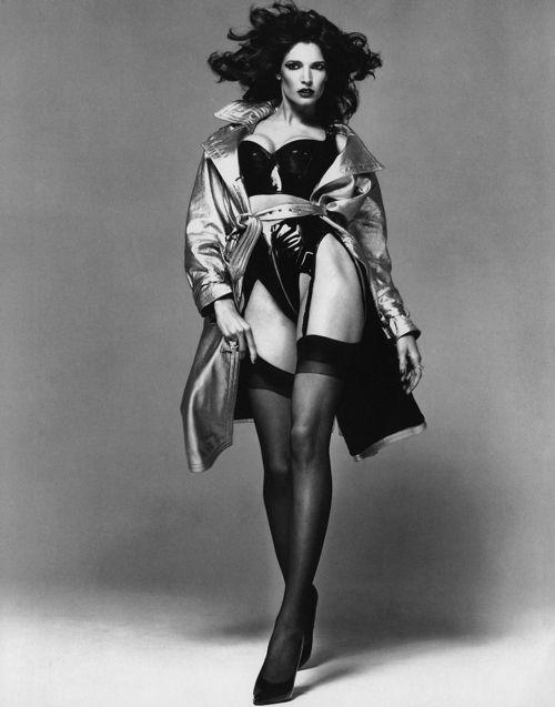 "Stephanie Seymour  ""La Passante Du Siecle"", Egoiste France, Issue #13 of 1992  Photographer: Richard Avedon"