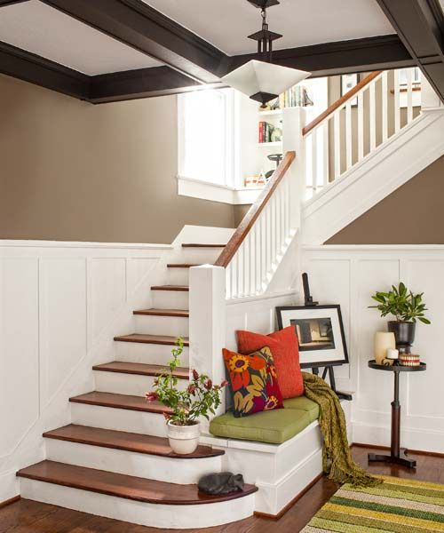 Best 25 Oak Stairs Ideas On Pinterest: 25+ Best Ideas About Craftsman Staircase On Pinterest