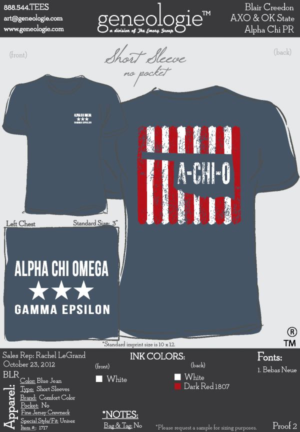 AXO t-shirt but Sigma and Arizona