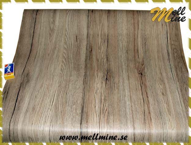 Dekorplast dcfix - trä ek sanremo - b= 65-67.5 cm (metervara)