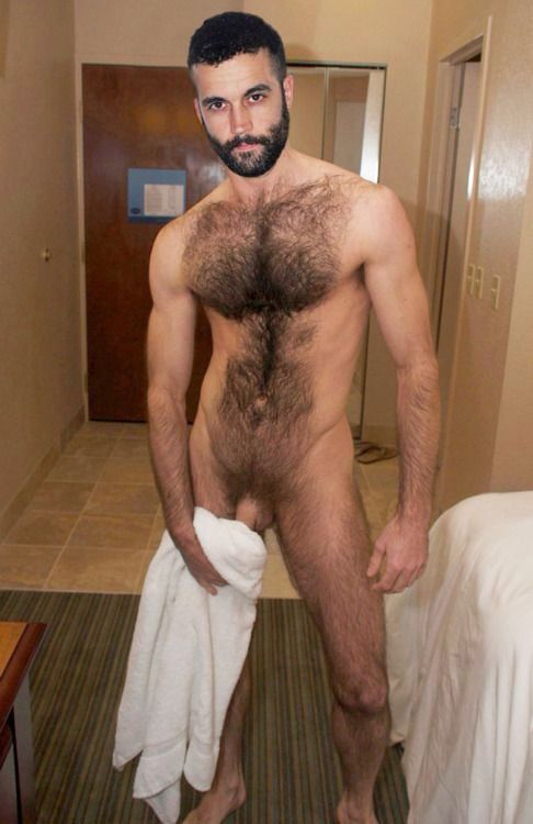 Models nude hairy male