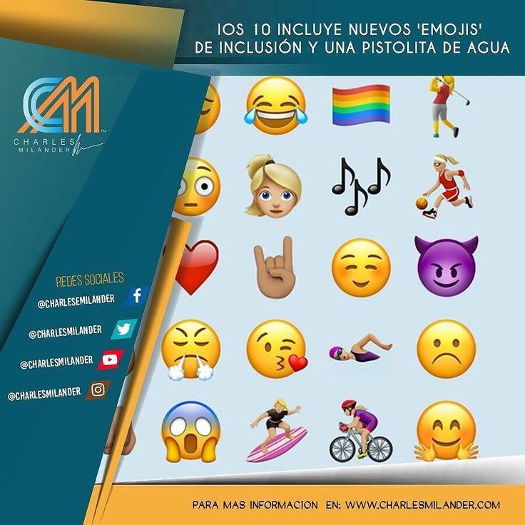 Nuevo Emojis para iOS 10. #charlesmilander #tecnologia #tech #technology #zte #galaxy #lg #htc #android #mobile #apps #pc #mac #windows #iOS #iphone #ipad #Android #google #samsung #whatsapp #facebook #twitter #youtube #technology #batman #smartphones #Emojis