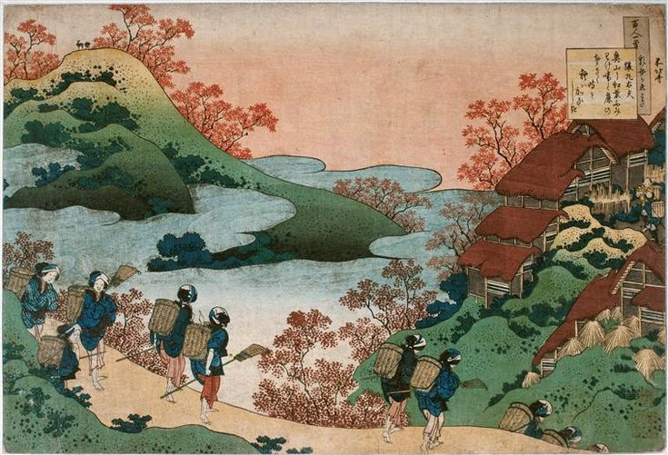 Katsushika Hokusai - Sarumaru Daiyu, 1835