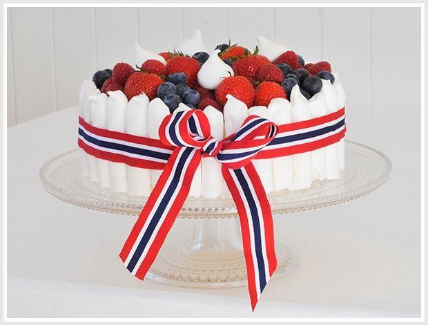 17.mai-kake med marengspinner