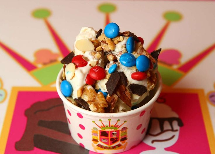 Which ice cream shop is the local favorite in Palm Beach County?
