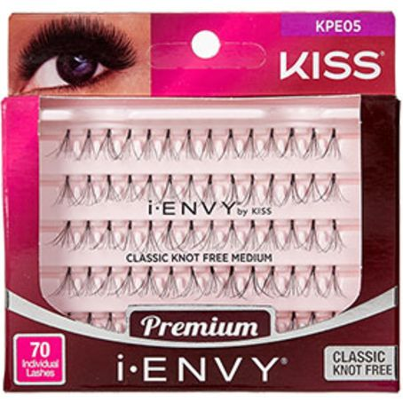 Kiss i-ENVY Premium Individual Eyelashes 70 Lashes - Classic Knot Free Medium #KPE05 $3.59   Visit www.BarberSalon.com One stop shopping for Professional Barber Supplies, Salon Supplies, Hair & Wigs, Professional Product. GUARANTEE LOW PRICES!!! #barbersupply #barbersupplies #salonsupply #salonsupplies #beautysupply #beautysupplies #barber #salon #hair #wig #deals #Kiss #iENVY #Premium #Individual #Eyelashes #70Lashes #Classic #KnotFree #Medium #KPE05