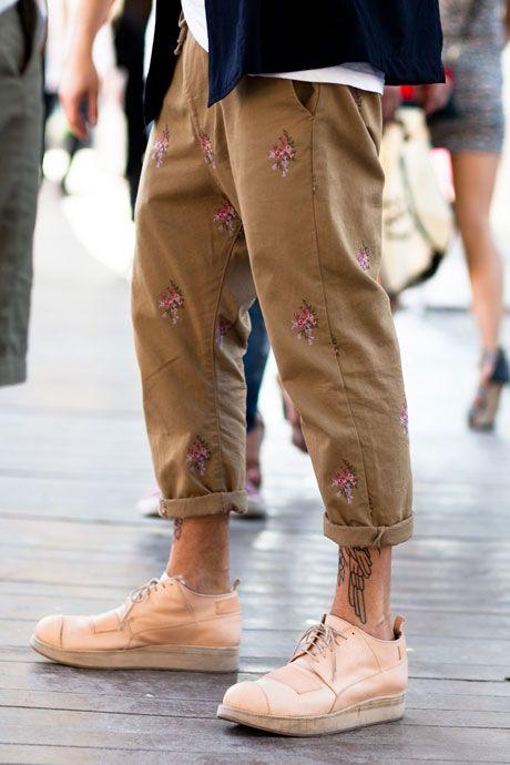 Floral Prints at Pitti Uomo love this style men fashion streetstyle