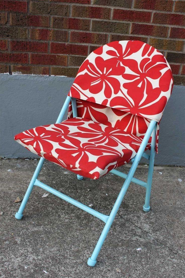 Diy Folding Chair Cover Pattern  Folding Chairs  Folding