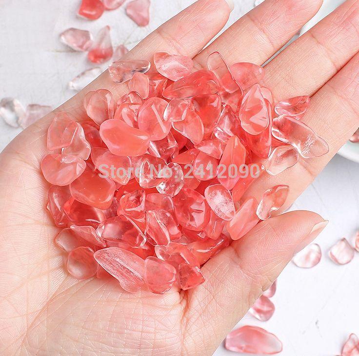 Pink Crystal Beads for Vase Fish Tank Decor Aquatic Pet Supplies Decorative Crystal Marbles Aquarium Substrate Ornaments 250g #Affiliate