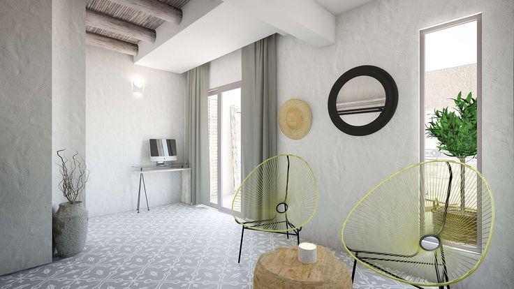 Helios Executive Suite - Living Room, Elakati Luxury Boutique Hotel, Rhodes , Greece
