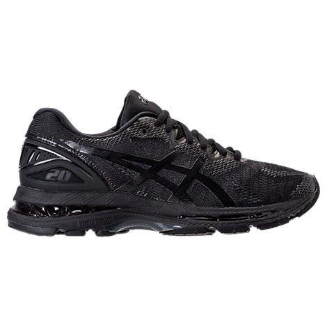 ASICS WOMEN'S GEL-NIMBUS 20 RUNNING SHOES, BLACK. #asics #shoes #