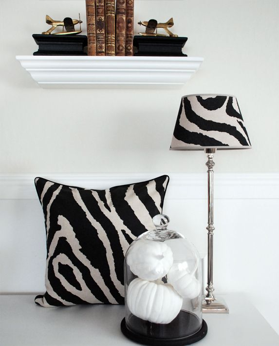 Kolonialstil. Zebra mönster. www.longcoastliving.se