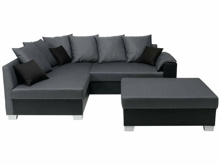 39 best images about canap on pinterest canape salon monet and corner sofa - Canape noir conforama ...