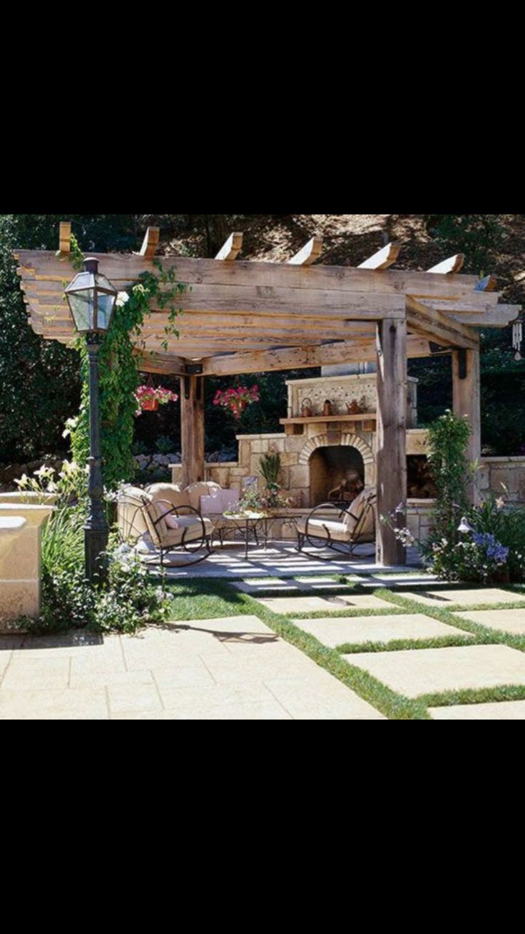 best oh mon beau jardin images on pinterest backyard patio