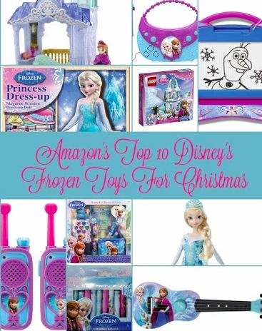 Amazon's Top 10 Disney's Frozen Toys for Christmas. See if your toy is on our list!