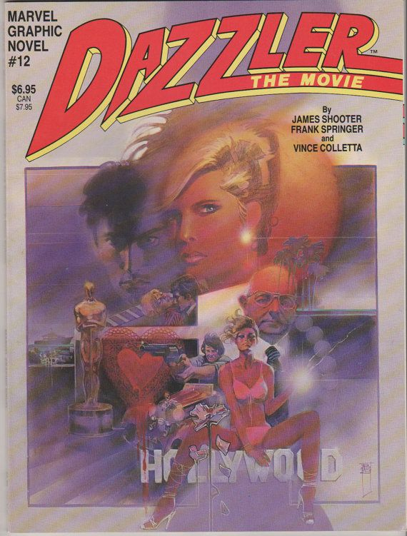 Marvel Graphic Novel V1 12.  Dazzler the by RubbersuitStudios, $13.00 #comicbooks #dazzler #graphicnovels