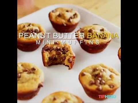 GF Peanut Butter Banana Muffins - Life Tips - TipHero - YouTube