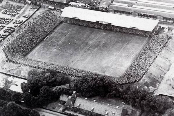 Carrow Road, before redevelopment