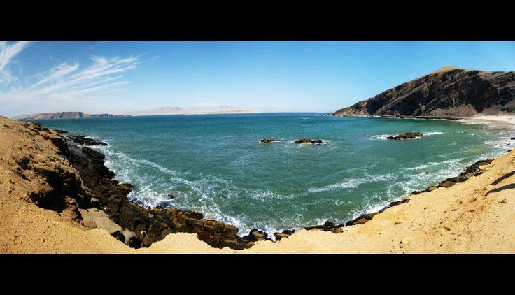 Puedes disfrutar de las hermosas playas de Paracas. #Ica