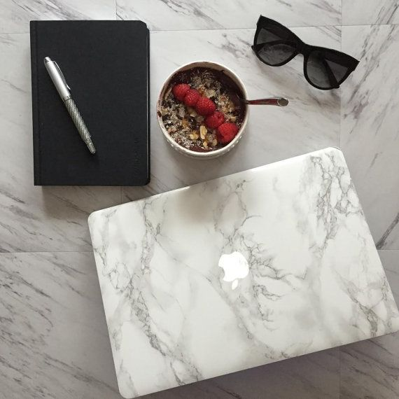 Marble MacBook Sticker Cover - Made for MacBook Air, MacBook Pro, MacBook Pro Retina Laptops. The Original Marble MacBook!
