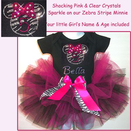 rock star outfits birthday party outfits for girls | Razzel Dazzel Minnie Mouse Rock Star Tutu Set