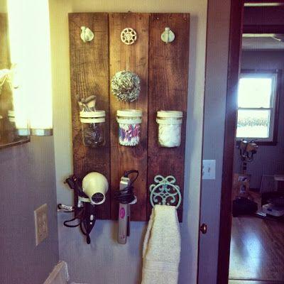 The Loft And Found: Custom Piece: Bathroom Organizer