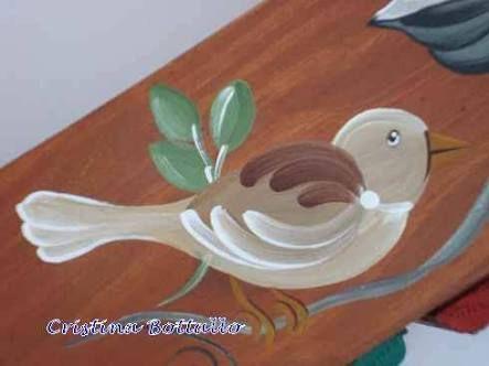 Resultado de imagem para pássaros em pintura bauer