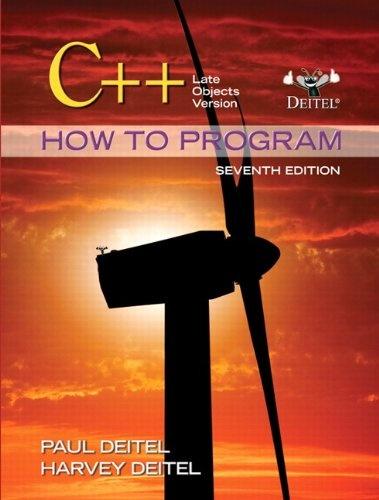 Bestseller Books Online C++ How to Program: Late Objects Version (7th Edition) (How to Program (Deitel)) Paul Deitel, Harvey Deitel $81.89  - http://www.ebooknetworking.net/books_detail-0132165414.html